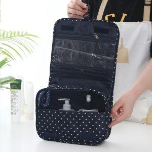 1шт Портативная дорожная сумка для хранения SHEIN. Цвет: темно-синий