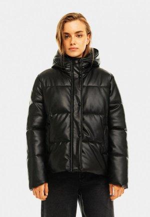 Куртка утепленная Befree Exclusive online. Цвет: черный