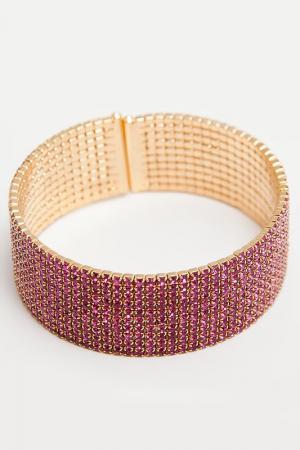 Браслет G. Glow. Цвет: розовый, золотой