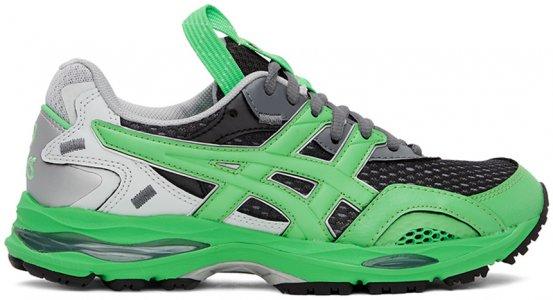 Green & Grey HS2-S Gel-MC Plus Sneakers Asics. Цвет: 300 green
