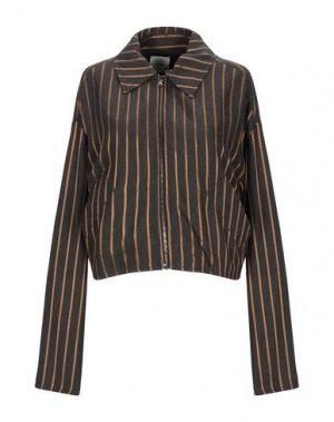Куртка ALYSI. Цвет: стальной серый