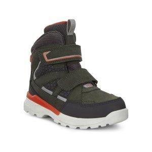 Ботинки высокие URBAN HIKER ECCO. Цвет: зеленый