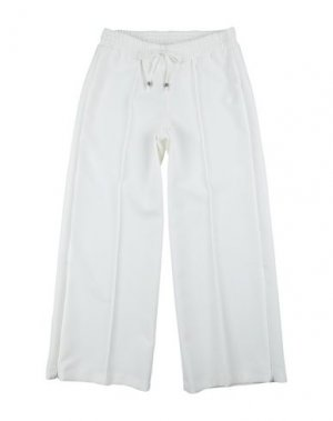 Повседневные брюки ELSY. Цвет: белый