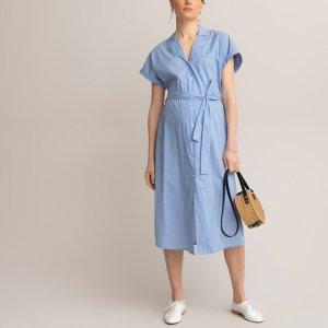 Платье-рубашка LaRedoute. Цвет: другие