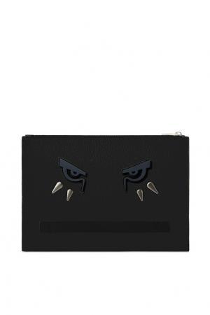Чехол для I-PAD с отделкой FURLA. Цвет: черный
