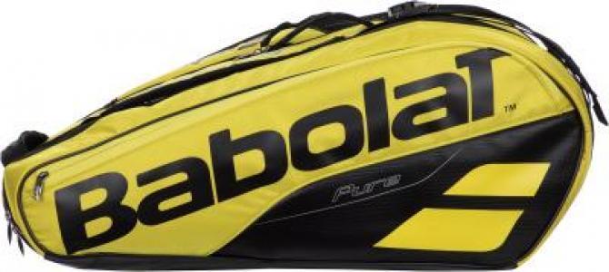 Сумка для 9 ракеток PURE AERO Babolat. Цвет: желтый