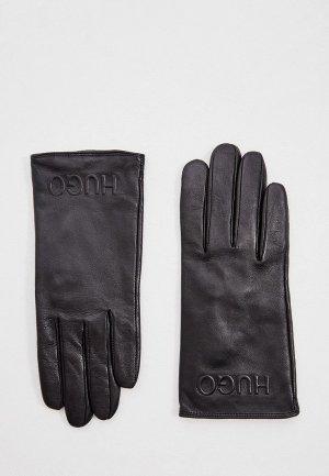 Перчатки Hugo DH 80. Цвет: черный