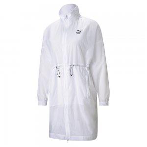 Куртка Classics Lightweight Womens Parka PUMA. Цвет: белый