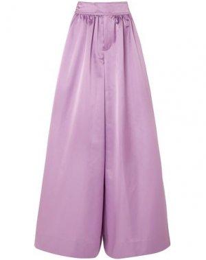Повседневные брюки J.CREW. Цвет: розовато-лиловый