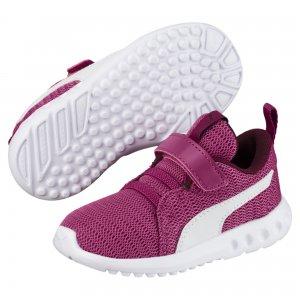Кроссовки Carson 2 V PS PUMA. Цвет: розовый