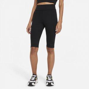 Женские леггинсы с высокой посадкой и длиной до колена Sportswear Essential - Черный Nike