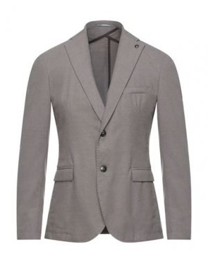 Пиджак HAVANA & CO.. Цвет: голубиный серый