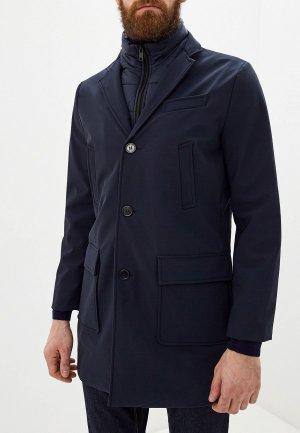 Куртка утепленная Liu Jo Uomo. Цвет: синий