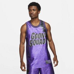 "Мужское джерси Dri-FIT LeBron x Space Jam: A New Legacy ""Goon Squad"" - Пурпурный Nike"