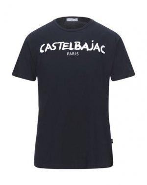Футболка CASTELBAJAC. Цвет: темно-синий