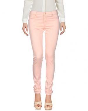 Повседневные брюки 2ND ONE. Цвет: розовый