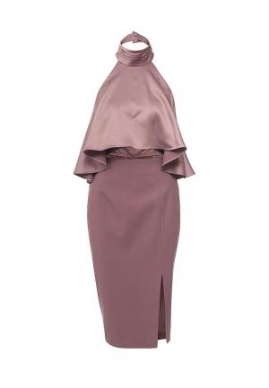 Платье LOST INK THE LABEL - KASPER HALTER DRESS. Цвет: розовый