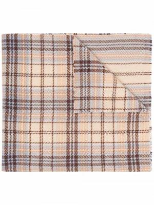 Tartan logo scarf Acne Studios. Цвет: нейтральные цвета
