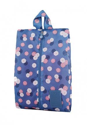 Органайзер для хранения Homsu Blue Flower. Цвет: голубой