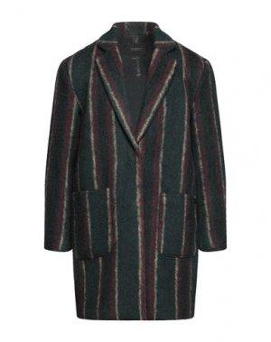 Пальто SCOTCH & SODA. Цвет: темно-зеленый