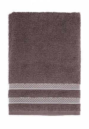 Полотенце Karna PETEK 140x70. Цвет: коричневый