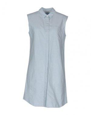Короткое платье LEVI'S MADE & CRAFTED. Цвет: синий