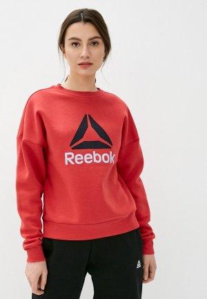 Свитшот Reebok. Цвет: красный