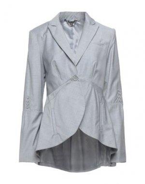 Пиджак FULL CIRCLE. Цвет: серый