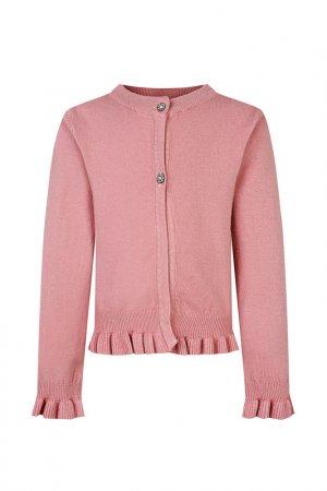 Кардиган Fracomina. Цвет: розовый