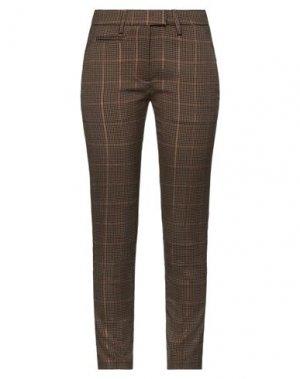 Повседневные брюки DONDUP. Цвет: коричневый
