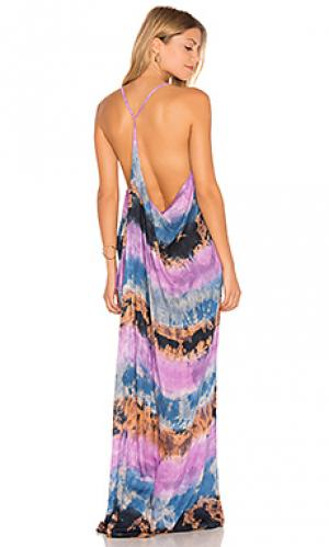 Платье kalapana Tiare Hawaii. Цвет: фиолетовый