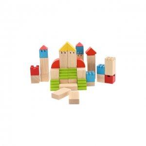 Конструктор Блоки Plan Toys. Цвет: разноцветный