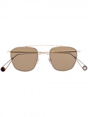 Солнцезащитные очки Ahlem. Цвет: коричневый