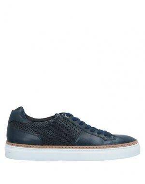 Низкие кеды и кроссовки CORVARI. Цвет: темно-синий