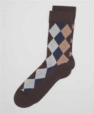 Носки HENDERSON. Цвет: коричневый
