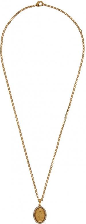 Gold Pendant Necklace Dolce & Gabbana. Цвет: zoo00 oro