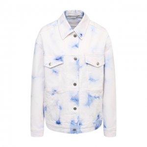 Джинсовая куртка Stella McCartney. Цвет: белый