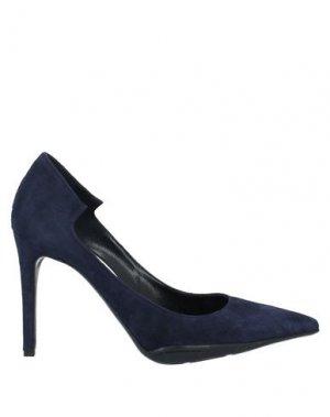 Туфли GIAMPAOLO VIOZZI. Цвет: темно-синий