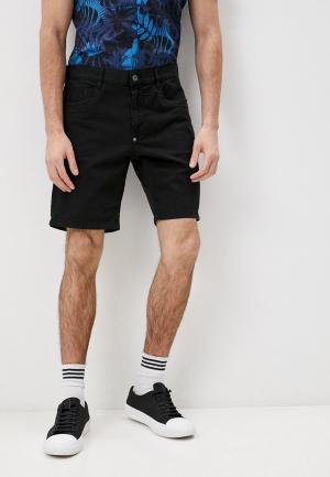 Шорты джинсовые Bikkembergs. Цвет: черный