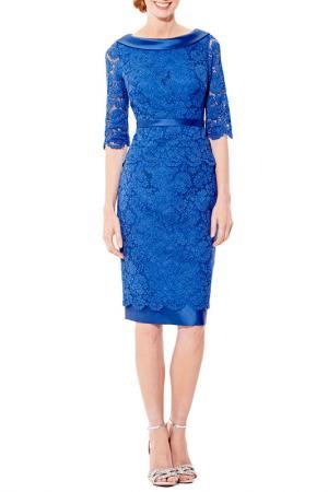 Коктейльное платье DYNASTY COCKTAIL. Цвет: midnight blue