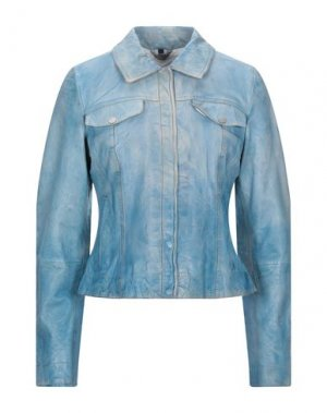 Куртка FREAKY NATION. Цвет: небесно-голубой