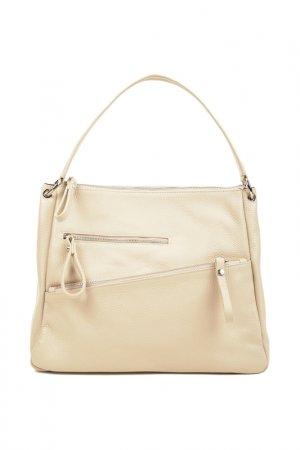 Bag CARLA FERRERI. Цвет: light beige