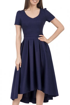 Платье Olivegrey. Цвет: чернильный