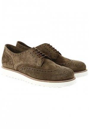 Ботинки W.GIBBS. Цвет: коричневый