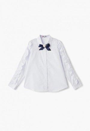 Блуза Panda kids. Цвет: белый