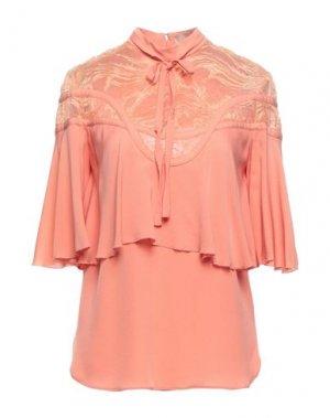 Блузка ELIE SAAB. Цвет: лососево-розовый