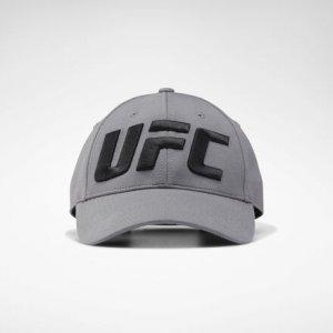 Бейсболка UFC Logo Reebok. Цвет: medium grey