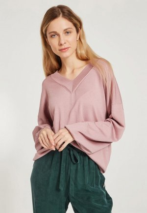 Пуловер Akhmadullina Dreams. Цвет: розовый