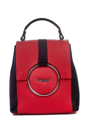 Рюкзак Dolci Capricci. Цвет: черный, красный