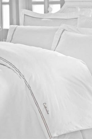 Комплект постельного белья Cotton box. Цвет: белый